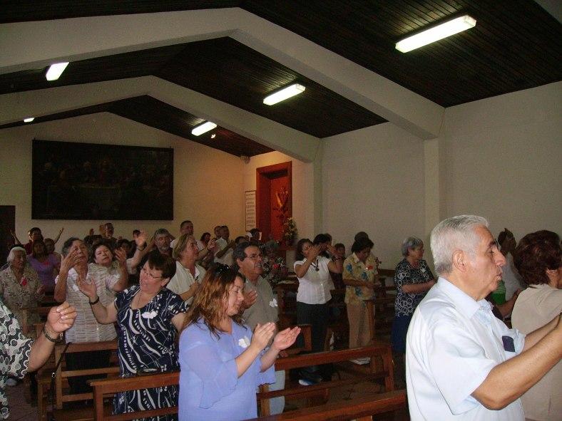 Misa Grupo Padre Pio 1
