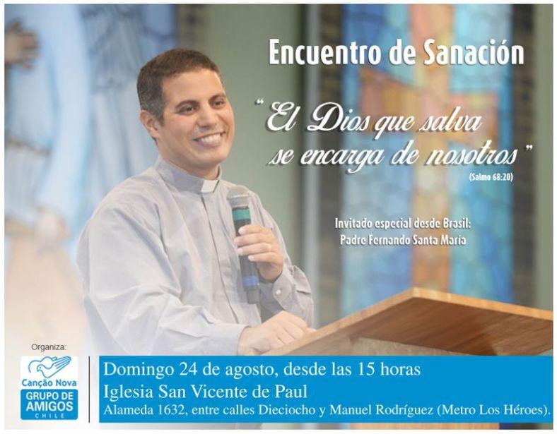 evento padre santiago