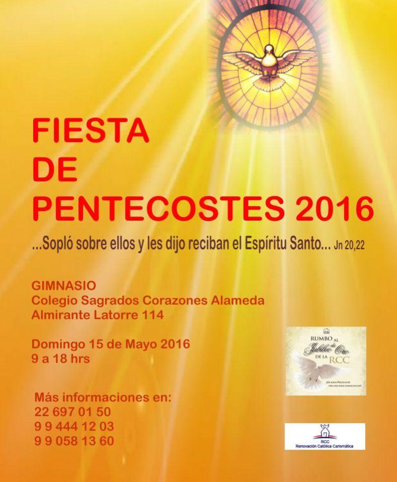 Fiesta Pentecostés 2016