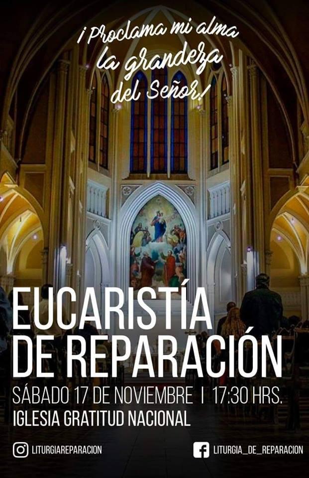 #liturgiareparacion Noviembre 17, 2019